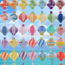 Новый Радужный бумажный фонарь 30 см воздушный шар свадебное украшение детская спальня висячие украшения для дня рождения Dl006