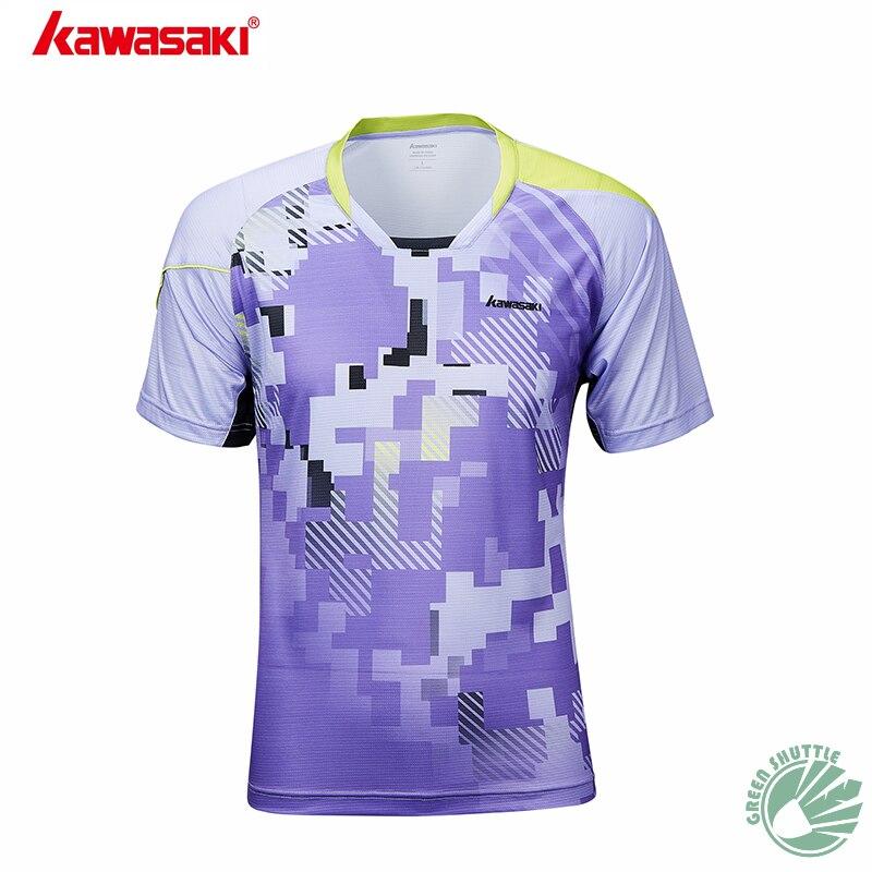 2020 professionelle Kawasaki Atmungsaktiv Badminton T-Shirt Quick Dry Sport Kleidung Jersey Für Männer Und Frauen ST-S1107