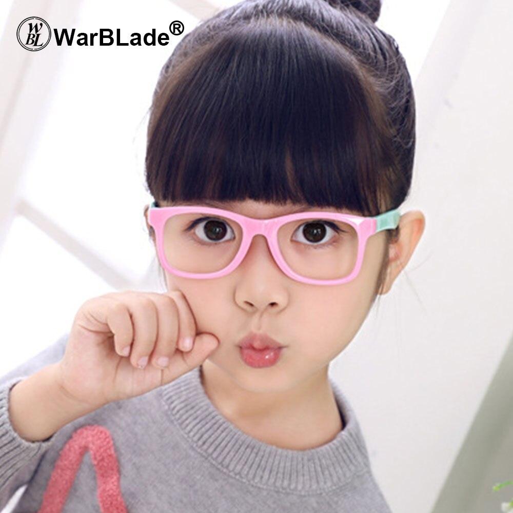 Gafas transparentes WarBLade para niños, Marcos para miopía, Marcos para lentes recetados para niños, montura de gafas ópticas para niños
