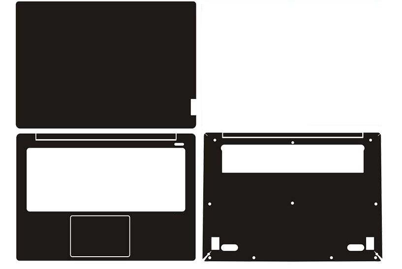 "Funda de vinilo de fibra de carbono para portátil para Lenovo Ideapad 530S 14 ""530S-14"