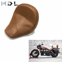 for indian scout 2015 2019 scout sixty brown black front drivers seat solo riders seat cushion saddle