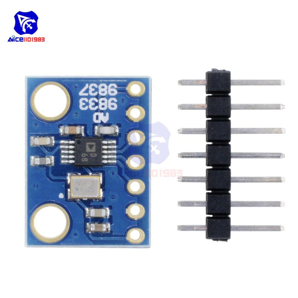 AD9833 microprocesadores programables módulo interfaz Serial sinusoidal cuadrado de forma de onda DDS módulo generador de señal de 3,3 V para Arduino
