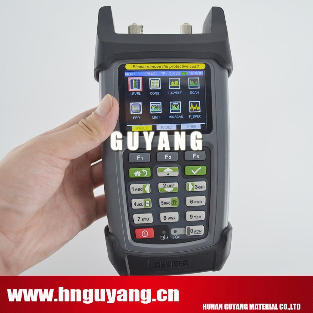 Deviser DS2460Q QAM Analysis Meter Fast spectrum analysis, 5~1220 MHz catv meter