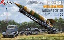 RealTS TAKOM V-2 fusée MeillerWagen Hanomag SS100 camion transporteur modèle kit 1/35