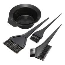 4 Stks/set Barber Salon Tint Haarverf Colouring Kits Kappers Styling Tools Plastic Borstel Kam Mengkom Haar Art Gereedschap p0.1