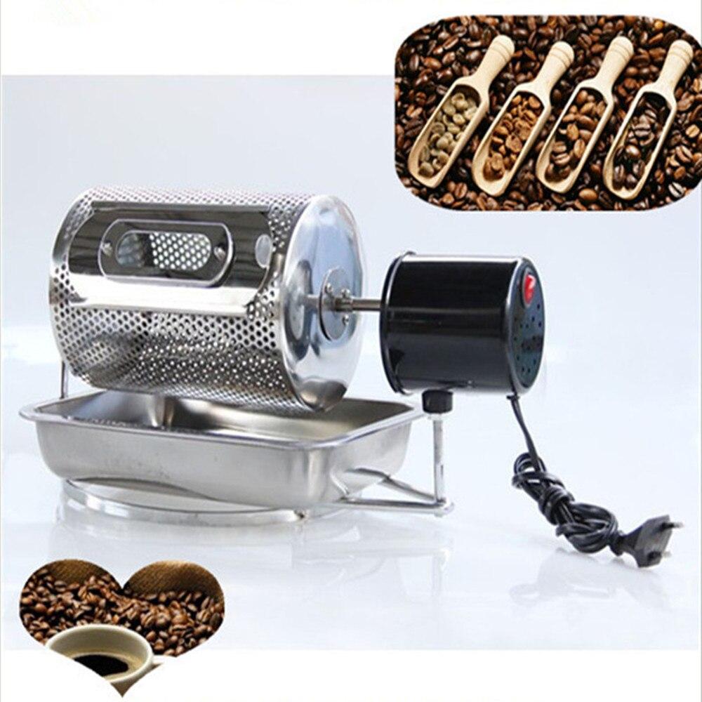 110V/220V Electric mini coffee bean roaster coffee roasting machine mini coffee baking machine for home use