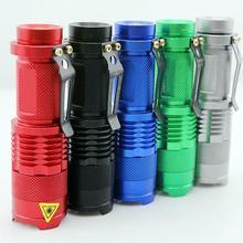 Torche de lanterne de lumière dure dalliage daluminium de haute qualité Mini éclairage portatif de lampe de poche LED chaud