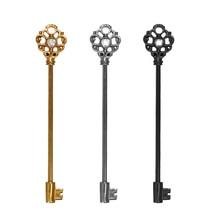 New Key Design Ear Industrial Piercings Surgical Stainless Steel Cartilage Earrings 38mm Ear Plugs Body Piercing Jewelry