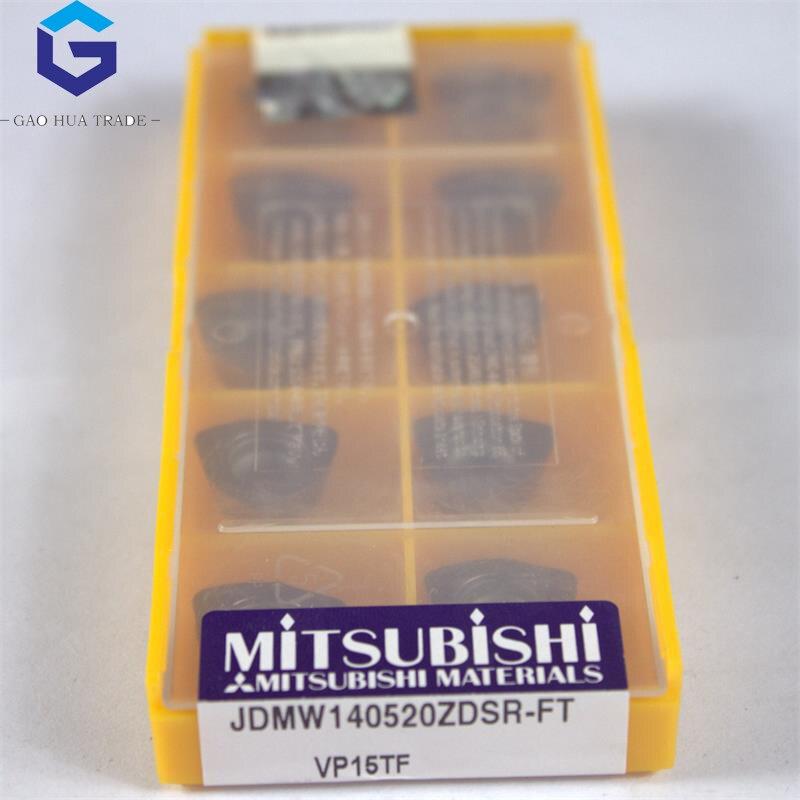 JDMW140520ZDSR-FT VP15TF 10 قطعة/الوحدة ميتسوبيشي طحن القواطع الأصلي المغلفة كربيد JDMW140520ZDSR-FT VP15TF