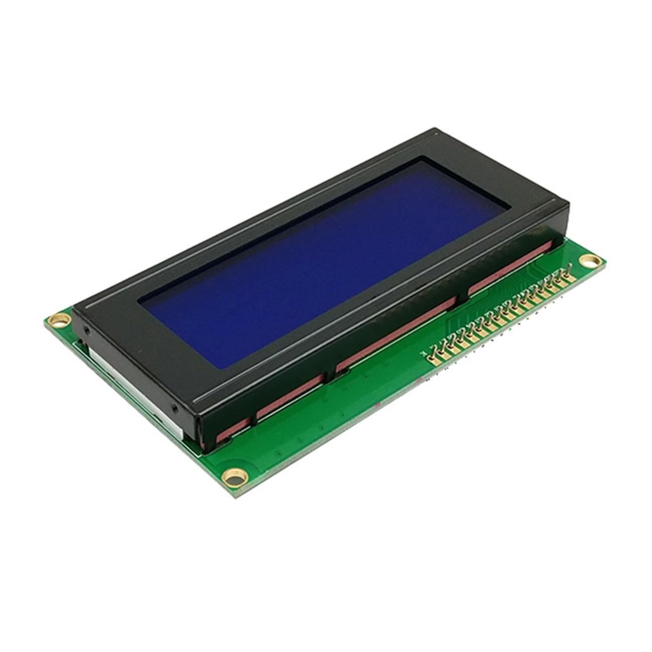Niebieski/tło green Screen IIC 2004 + IIC I2C X 4 znaków HD44780 niebieski podświetlenie ekranu kontroler dla szeregowy SPI adapter interfejsu