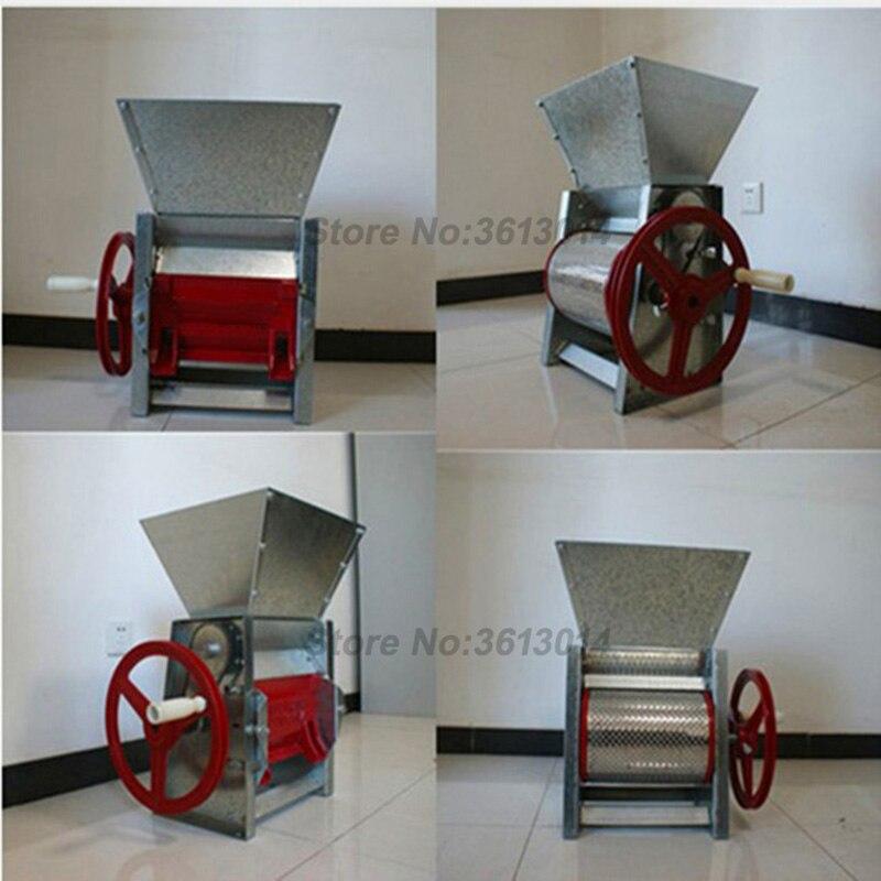 Despolpador de café em grão huller descamação descascador Manual de mão operar fresco sheller máquina preço