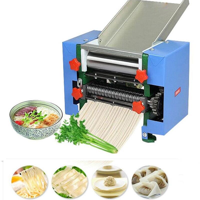 Máquina automática para fabricar fideos de acero inoxidable de Wonton con Dumpling eléctrico de 220V para uso comercial