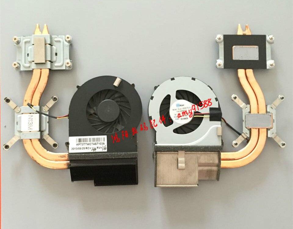 Brand New Laptop CPU Cooler Radiator Heatsink Fan Fit For HP Pavilion DV6-3000 DV7-4000 622033-001 KSB0505HA 9J99 5V 0.38A