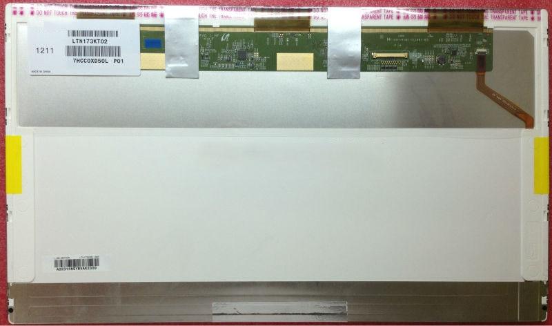 17,3 pulgadas LCD matriz LTN173KT02 B173RW01 V4 V5 LTN173KT01 N173O6-L02 LP173WD1 N173FGE-L21 L23 pantalla de ordenador portátil Pancel LVDS 40pin