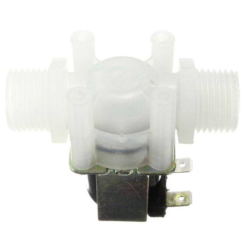 "1/2 ""DC 12V Elektrisches Magnetventil N/C Wasser Lufteinlass Fluss Schalter Normal Geschlossen 1/2 Zoll ventile"