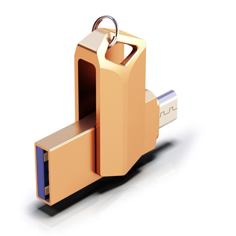 360 Rotation 64GB Pendrive USB 3.0 Memory Stick 32GB 64GB Pen Drive Real Capacity USB Flash Drives For Sumsang Huawei xiaomi