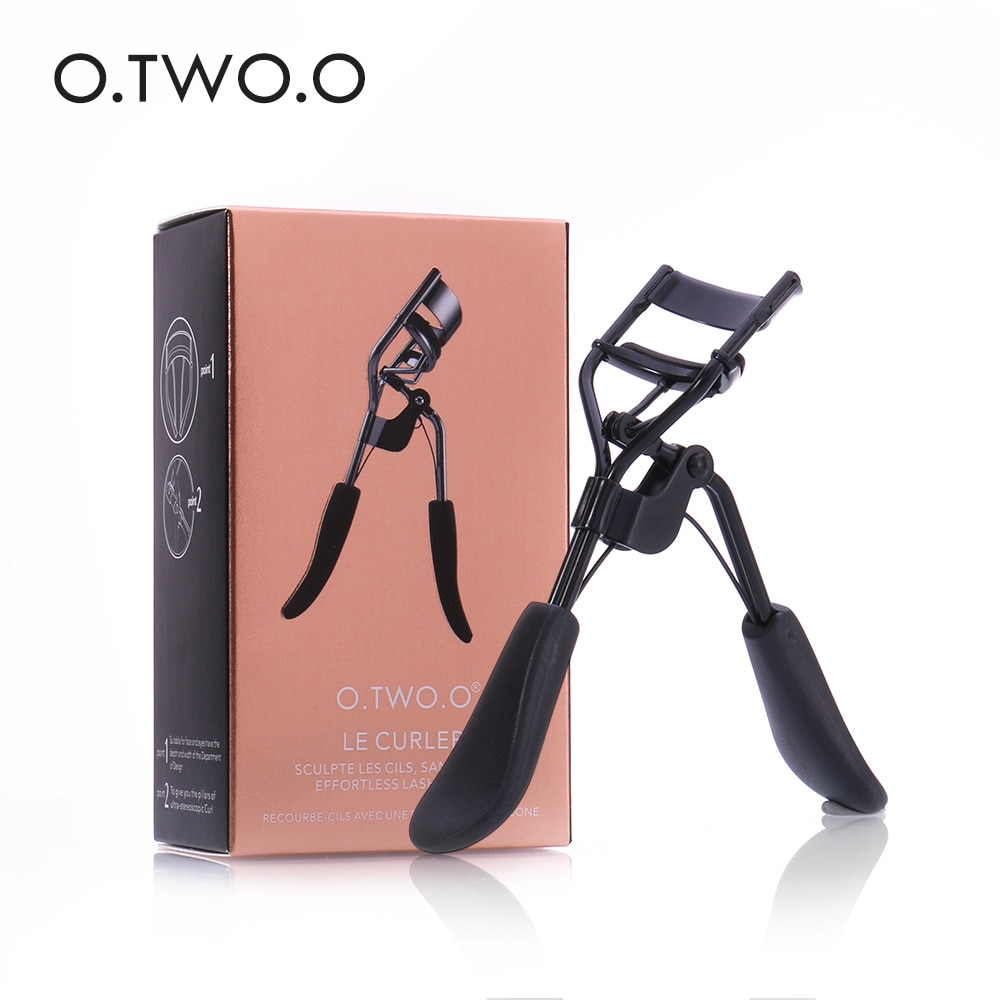 O.TWO.O Makeup Eyelash Curler Beauty Tools Lady Women Lash Nature Curl Style Cute Eyelash Handle Cur