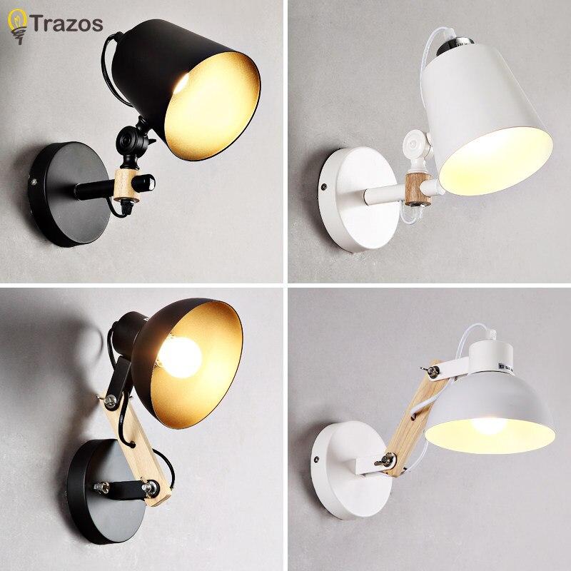 Moderno arandela iluminação de parede montado cabeceira luz leitura criativo lâmpada parede sala estar foyer casa iluminação arandela rústico