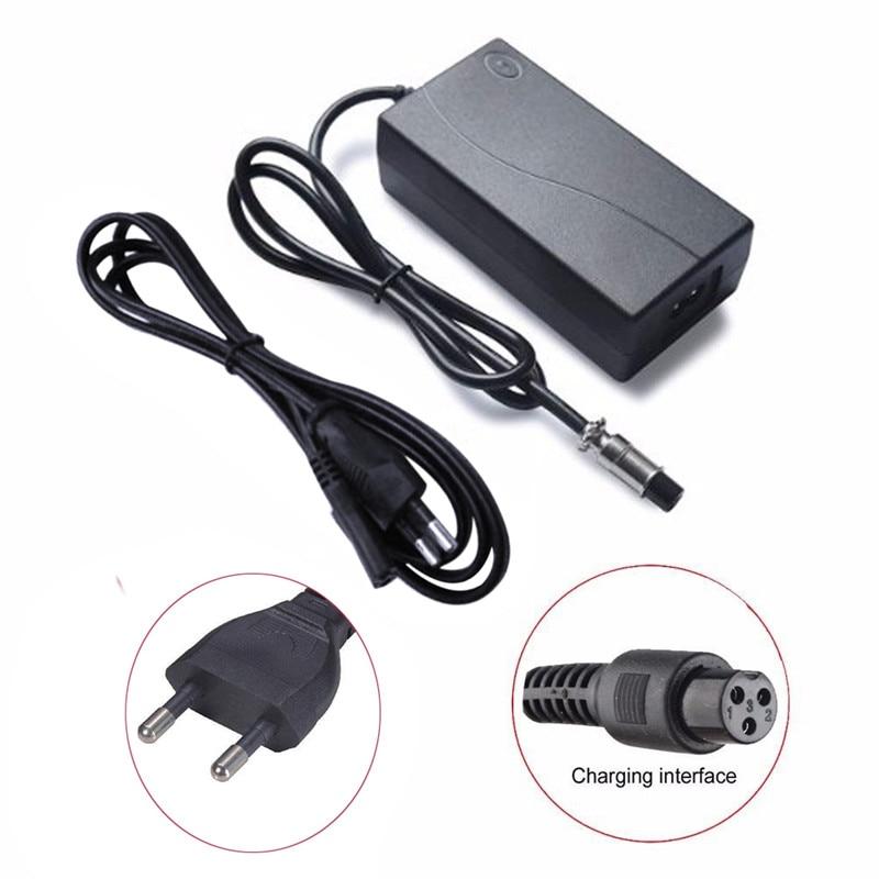 42V 1,5 A AC Li-Ion Batterie Ladegerät für Hoverboard Smart Balance Rad Elektrische Power Roller Hover Board EU UNS stecker Adapter