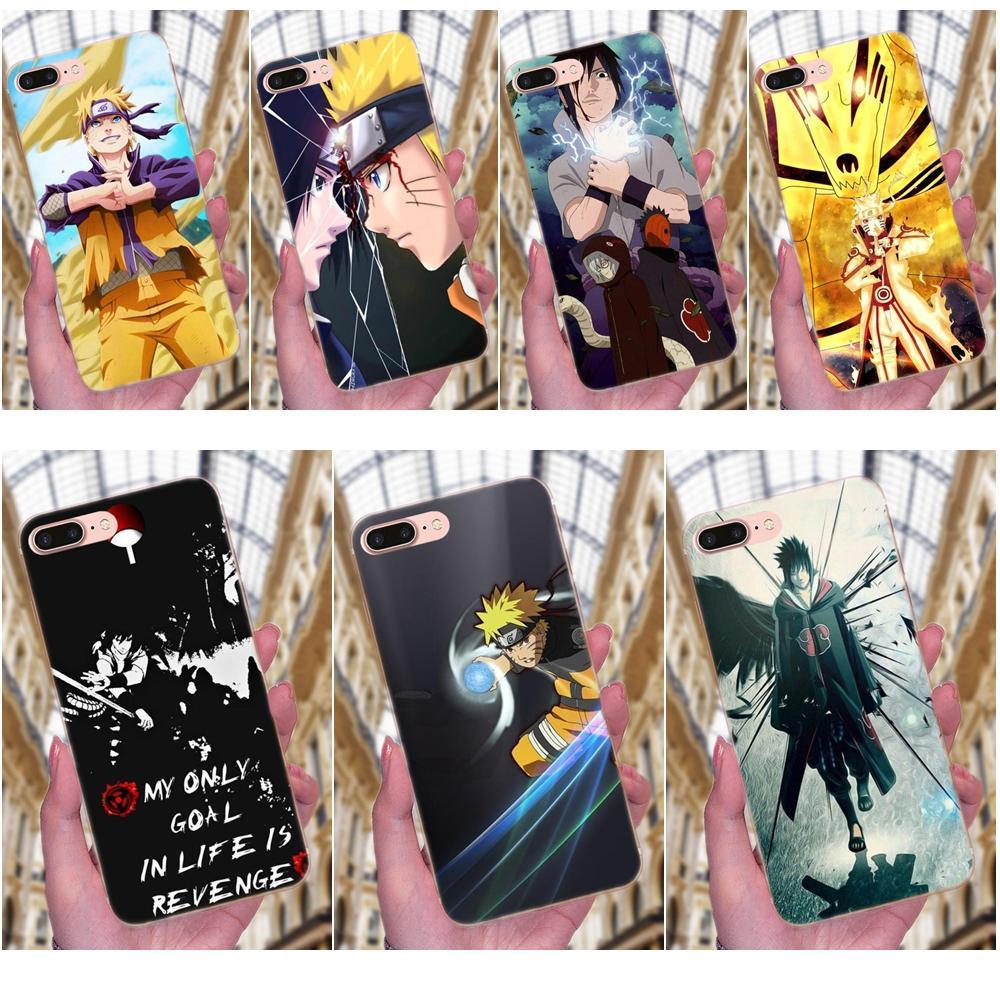 Diy Beautiful Phone Accessories Case For Samsung Galaxy Note 5 8 9 S3 S4 S5 S6 S7 S8 S9 S10 mini Edge Plus Lite Naruto Sasuke
