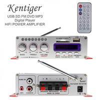 HY-502 2CH HI-FI Digital Audio Player MP3 Speaker Car Amplifier FM Radio Stereo Player Support SD / USB / MP3 / DVD Input