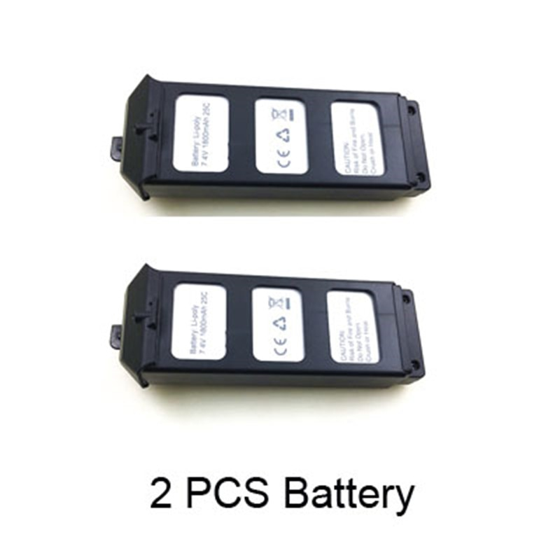 Batería li-po 7,4 V 1800Mah para MJX B5W Bugs 5 W/JJPRO X5 RC Quadcopter piezas de repuesto de drones accesorios MJX B5W batería B5W012
