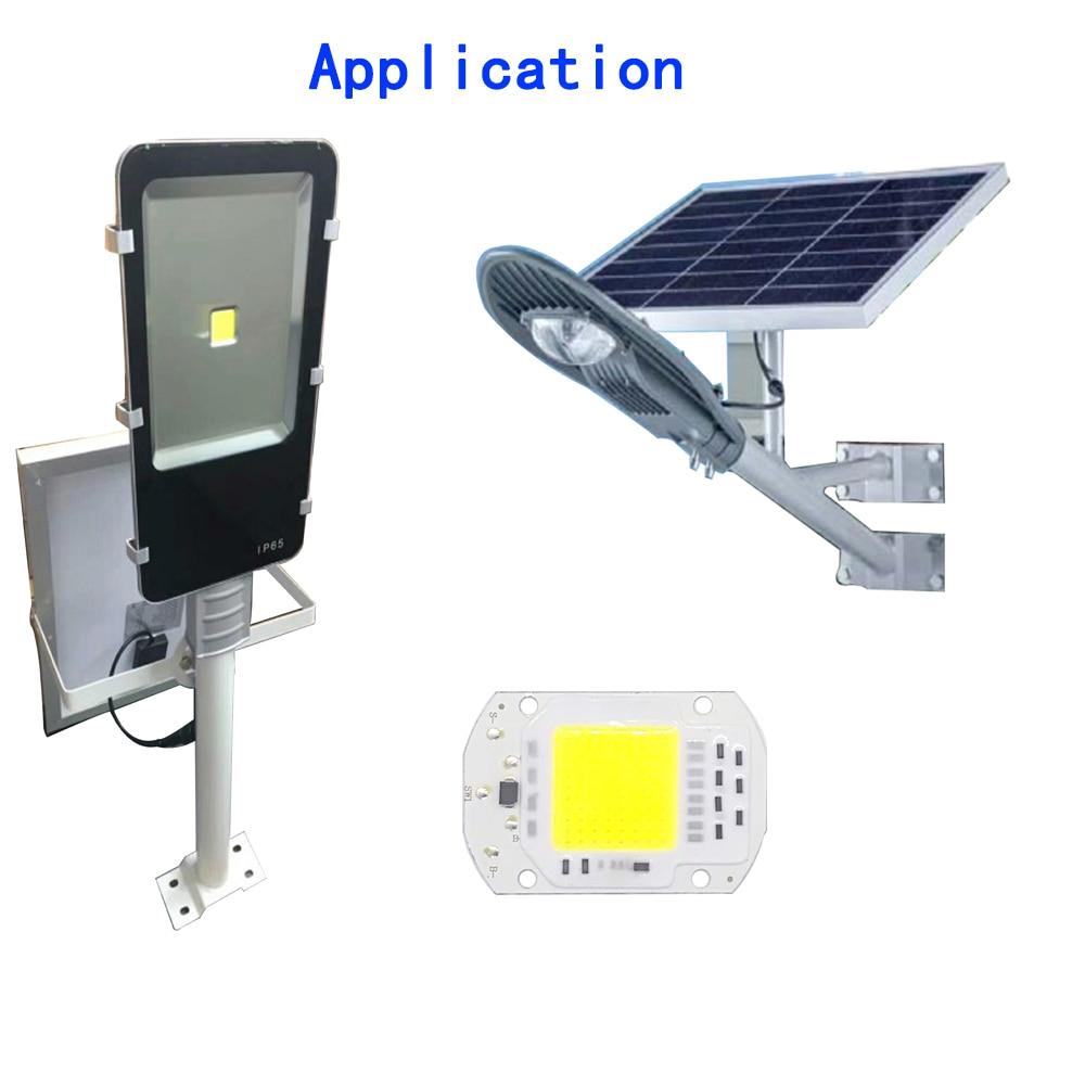 10W 20W 30W Pure White COB LED CHIP DC4V high power light beads for DIY solar street lamp