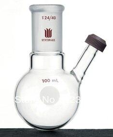F144500 Frasco redondo Fondo roscado entrada Capacidad 500 ml conjunto tamaño 24/40