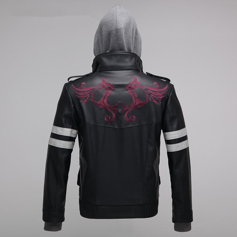 Костюм для косплея Alex Mercer, куртка с вышивкой из искусственной кожи высокого качества, костюм для Хэллоуина для женщин и мужчин, S-4XL