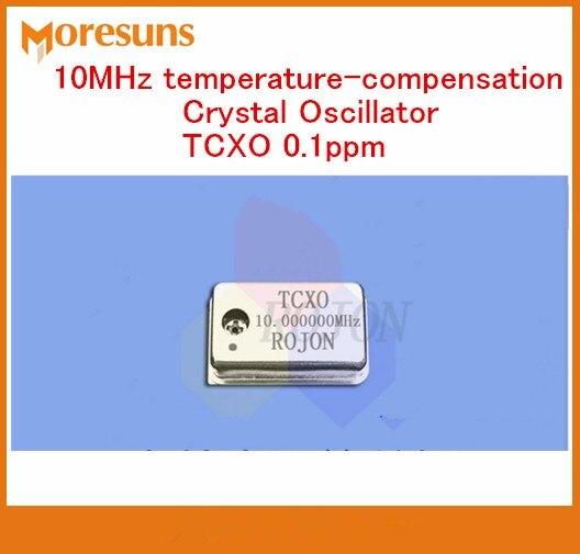 Rápido envío gratis 10 MHz, compensación de temperatura oscilador de cristal tcxo 0.1ppm instrumento de frecuencia estándar de osciladores de cristal