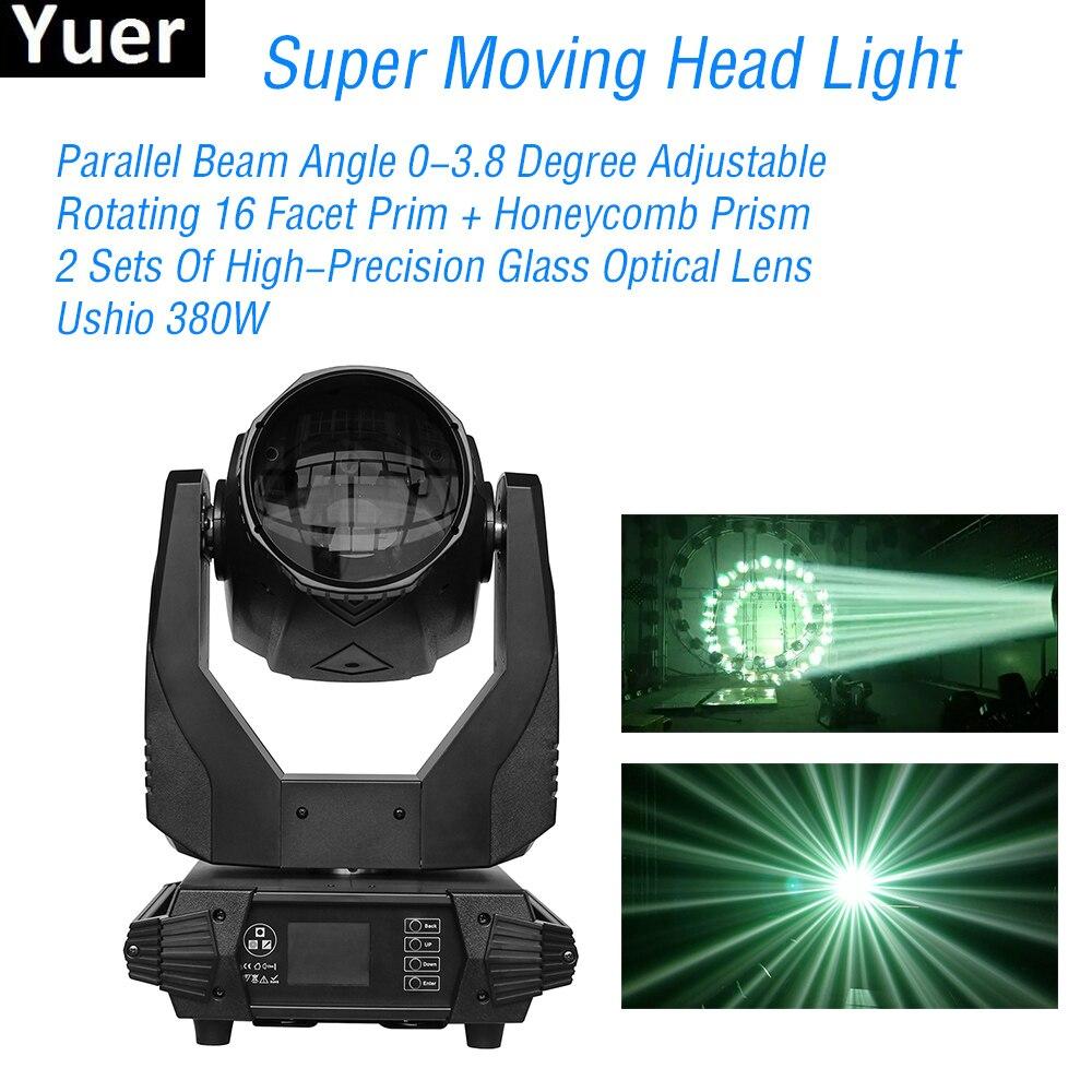 380W Super Moving Head Light DMX 512 High Brightness Moving Head Light for Stage Theater Disco Nightclub Party DJ Equipment