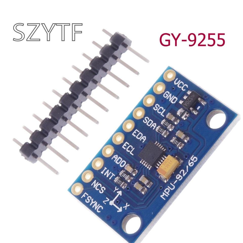 MPU-9255 sensor módulo três-eixo giroscópio acelerômetro campo magnético GY-9255GY9255