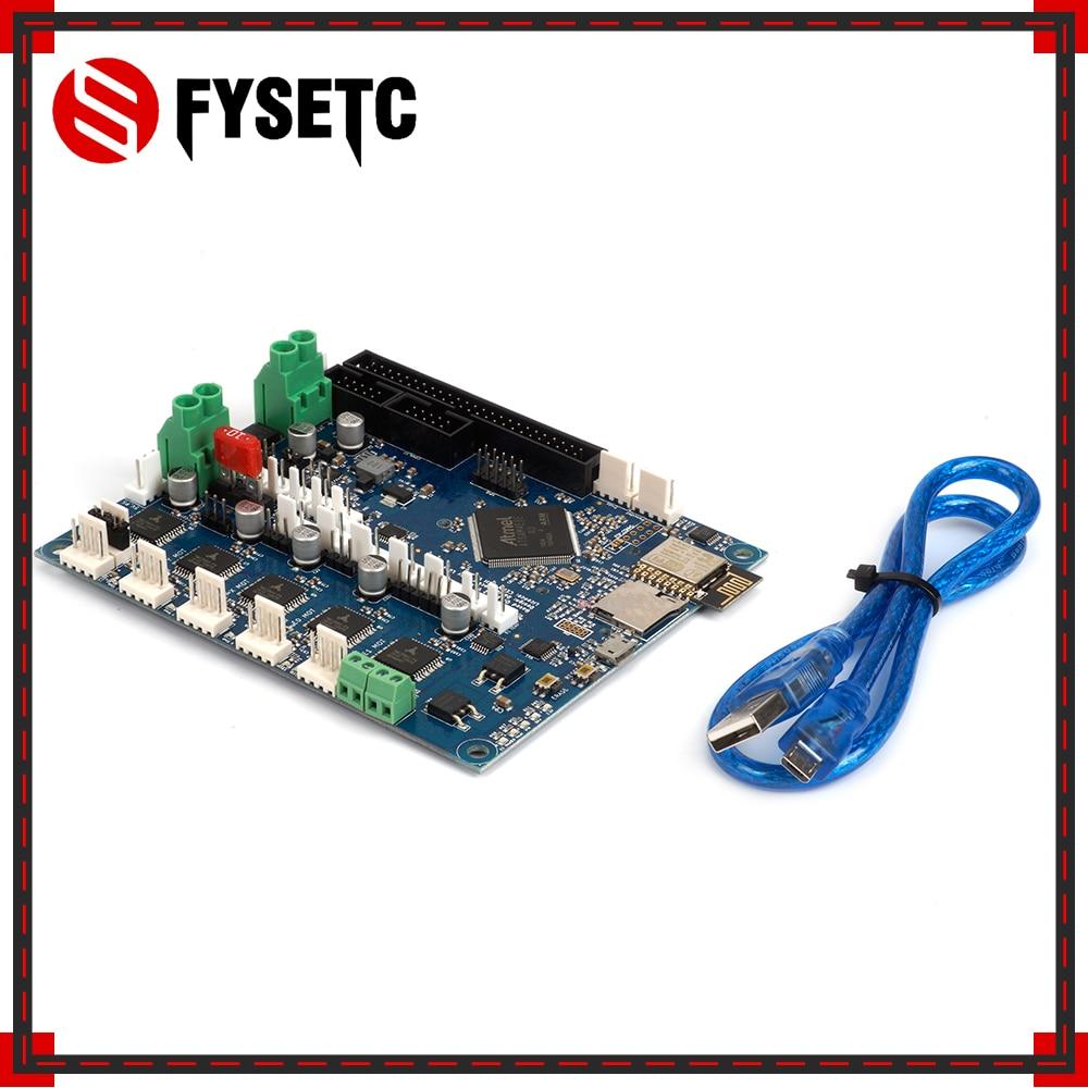 لوحة تحكم مستنسخة ثنائي 2 واي فاي V1.04 لوحة تحكم واي فاي ثنائي متقدم لوحة 32bit لطابعة BLV MGN Cube ثلاثية الأبعاد باستخدام الحاسوب