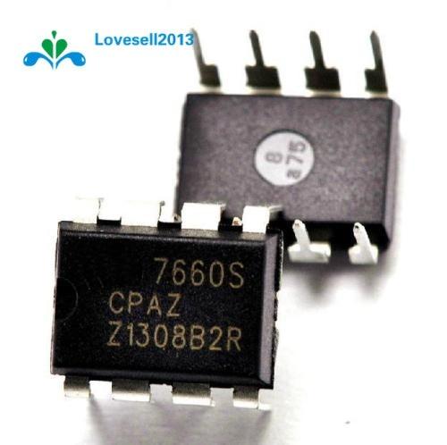 5 pièces ICL7660SCPAZ DIP-8 ICL7660 INTERSIL CMOS Convertisseurs De Tension IC