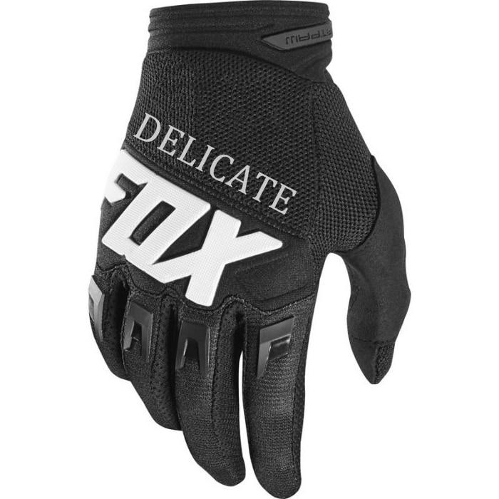¡Novedad de 2019! Delicados guantes de carrera de zorro Dirtpaw 360/180, guantes negros para ciclismo, bicicleta de montaña, bicicleta MTB BMX
