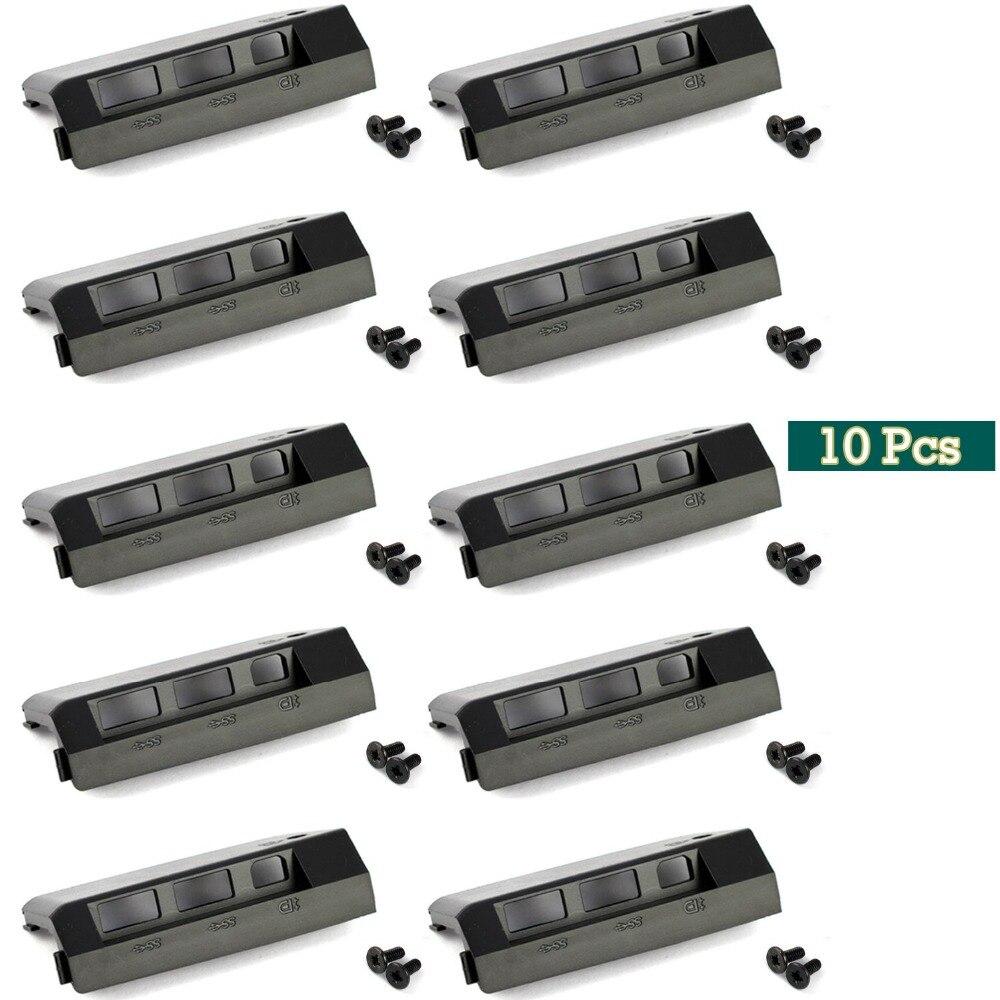 GZEELE nouveau Lot de 10 cache Caddies de disque dur + vis pour IBM pour Lenovo T430 T430i 10 pièces