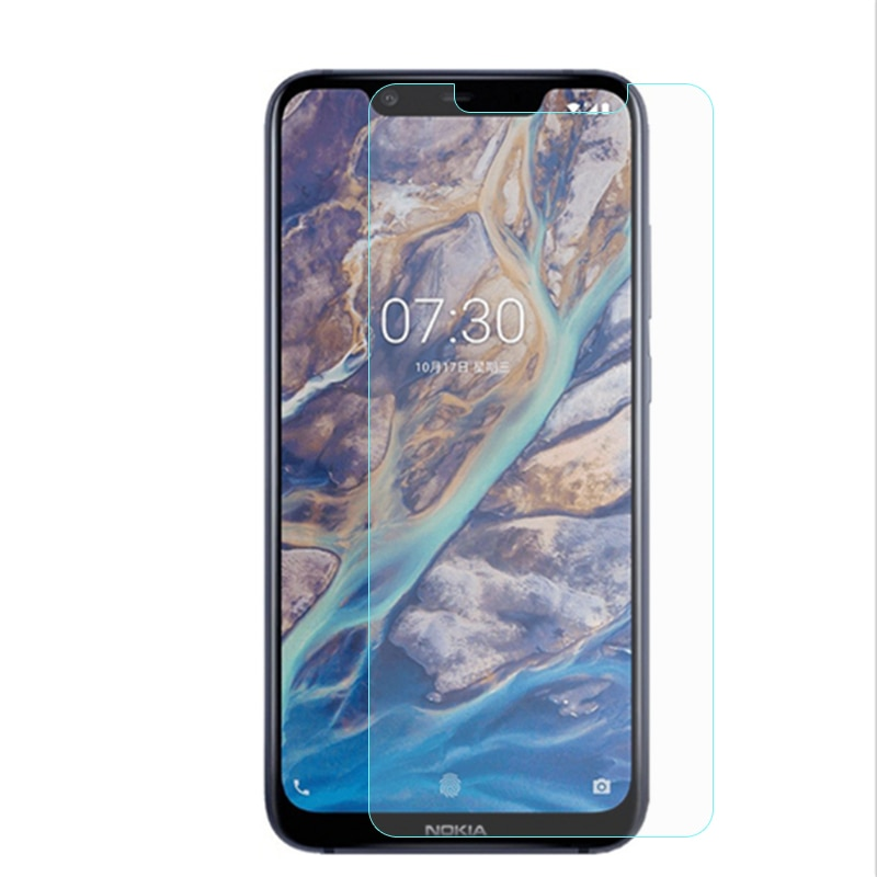 2PCS For Glass Nokia 8.1 Screen Protector Tempered Glass For Nokia 7.1 Plus X7 Glass For Nokia 8.1 F