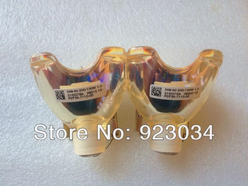 Lâmpada de substituição para Infocus SP-LAMP-017 LP540 L640 LS5000 SP5000 C160 C180 lâmpada nua originais