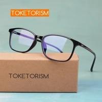 toketorism ultralight tr90 glasses anti blue ray computer eye glasses frames for women 97611