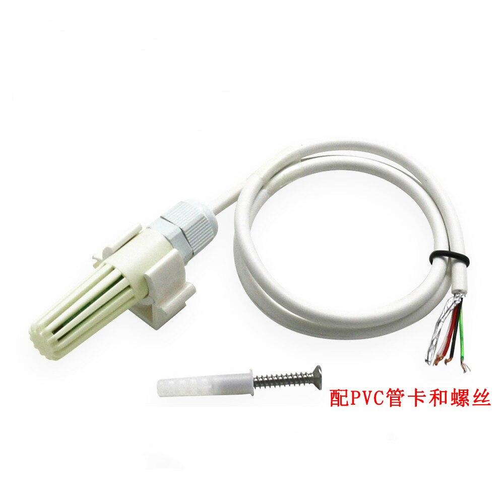 Transmisor de detección de temperatura y humedad, módulo de salida RS485, Sensor de detección de calidad de aire de alta precisión