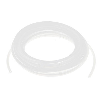 7,5 metros 6mm x 4mm blanco poliuretano Flexible Air Tube PU neumático tubo manguera envío gratis