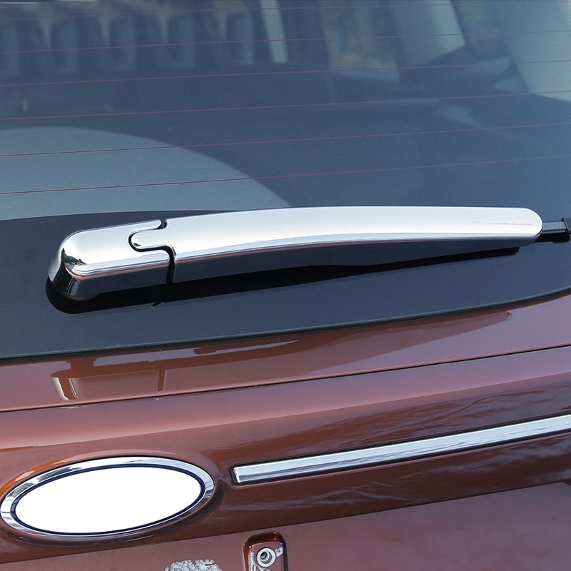 Ford Kuga Escape 2013-2017 cromo ABS coche ventana trasera limpiaparabrisas cubre lentejuelas decoración cola Auto Accesorios Estilo de coche 2 uds