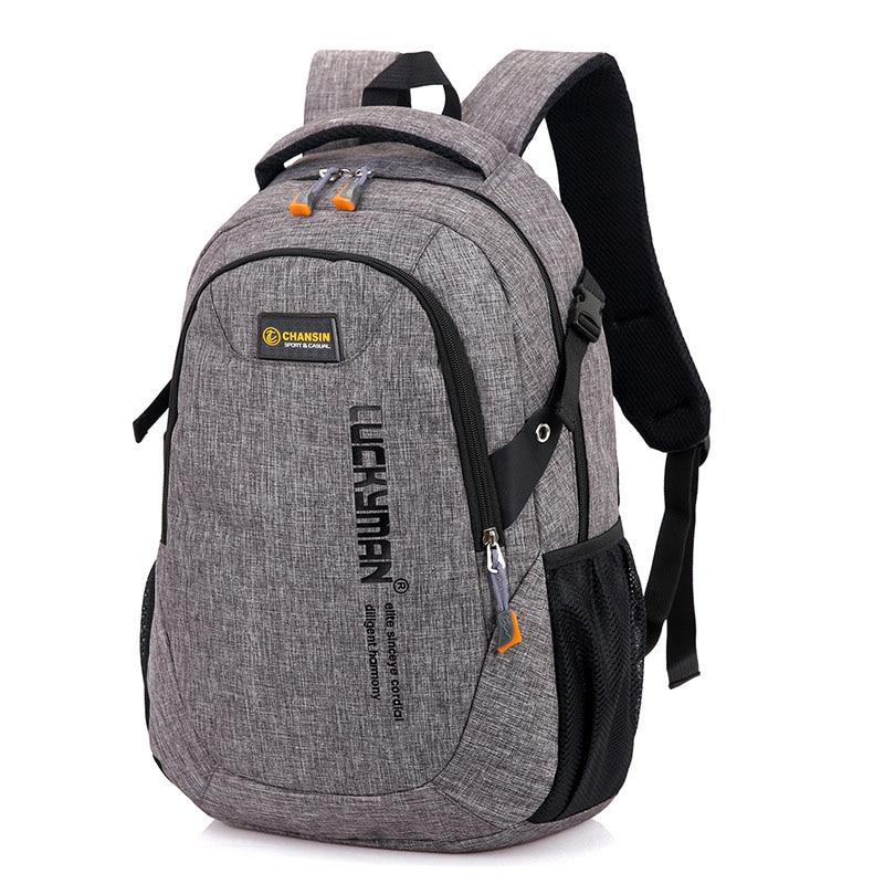Рюкзак женский и мужской, для ноутбука, вместительный, нейлоновый