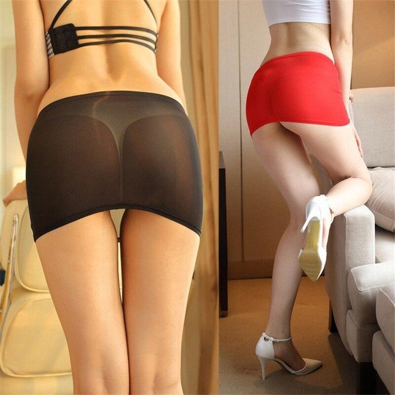 Mulheres sexy noite clube lápis saias ver através transparente tentação bonito curto mini micro saia pacote apertado hip saia s77