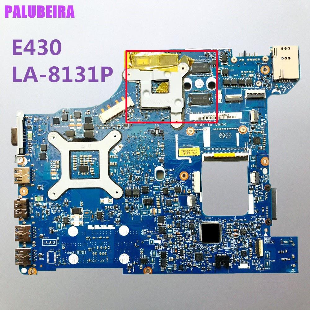 Palubeira para lenovo e430 placa-mãe LA-8131P 04y1212 s989 hm77 mainboard 100% teste ok