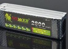 Lion Power 3S 11,1 v 2800 MAH Lipo Batterie Für fernbedienung flugzeug 11,1 v 2800 MAH 30c spielzeug batterien 3s Lipo 11,1