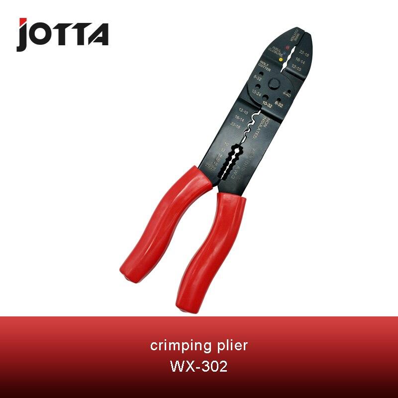 WX-302 crimpen werkzeug crimpen zange 2 multi tool werkzeuge hände Multi-funktionale crimpen abisolieren zange