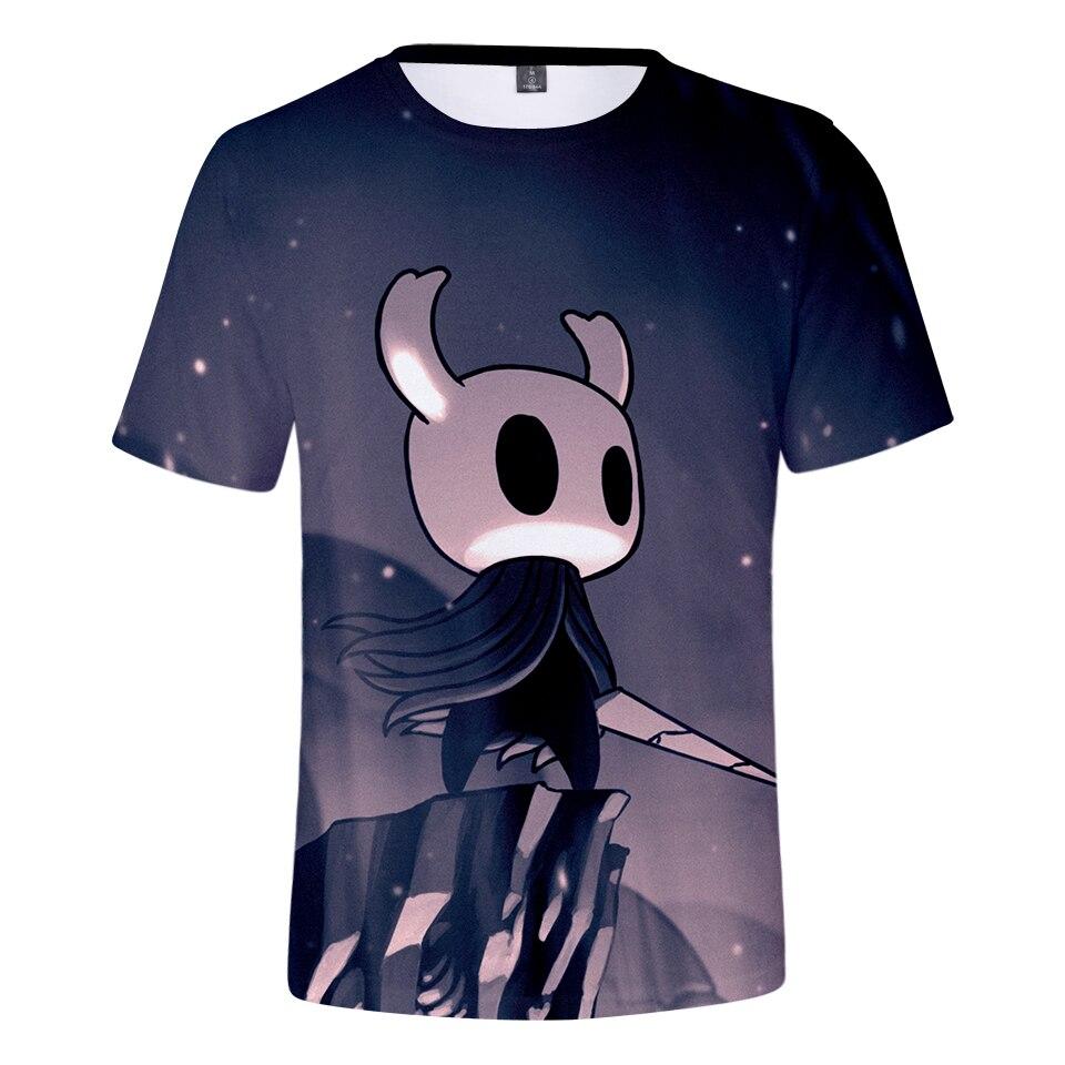 Hollow Knight Team Cherry hot Verano de manga corta casual camiseta unisex bottoming pareja amor padre-niño de juego de rol