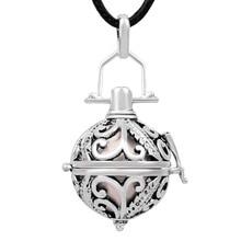 Eudora vintage Plumage Angel Caller Pendant Pregnancy Necklace Chime Sound Wishing Pendant Necklace Women Jewelry Gift