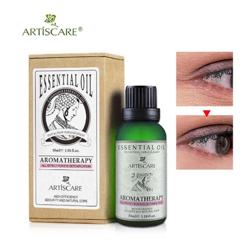 Aceite esencial del ojo de la belleza de ARTISCARE para Círculos oscuros bajo los ojos cuidado de la cara antiarrugas aceite para el cuidado de la piel anti envejecimiento de los ojos aceite de Masaje